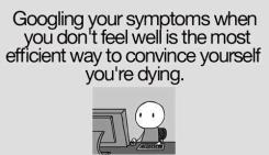 googling-your-sickness-funny-facebook-status-quote